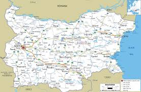 Montana Highway Map Detailed Clear Large Road Map Of Bulgaria Ezilon Maps