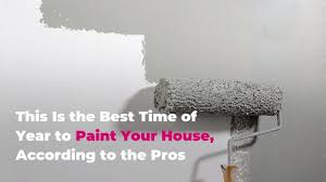 what is the best paint to paint your kitchen cabinets with this is the best time of year to paint your house according to the pros