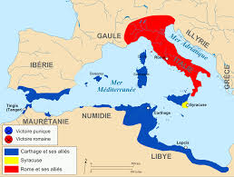 punic wars historical map isis world takeover plans pinterest