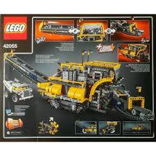lego technic bucket wheel excavator конструктор лего техник роторный экскаватор 42055 lego купить