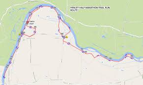 Marathon Route Map by Henley Half Marathon Henley Half Marathon