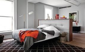 bett im wohnzimmer raumteiler für schlafzimmer 31 ideen zur abgrenzung