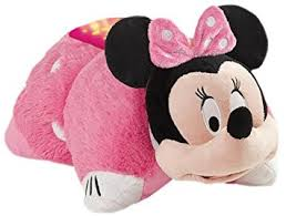 pillow pet night light target amazon com disney pillow pets dream lites minnie mouse stuffed