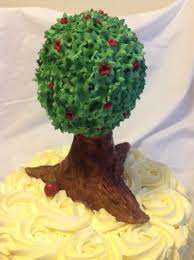 yellow rosette tree cakecentral