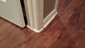 How To Lay Laminate Flooring Around Doors No More Ugly Gap And So Easy To Install Anyone Can Do It No