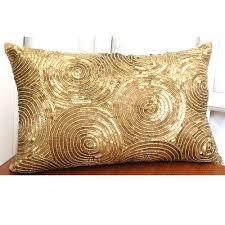 gold home decor accessories decor pretty gold throw pillows for home accessories ideas