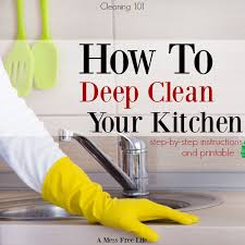 cleaning tips for kitchen how to deep clean your kitchen spring cleaning tips