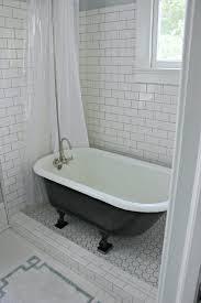 tub shower ideas for small bathrooms bathroom small bathroom design with cozy clawfoot tub shower and