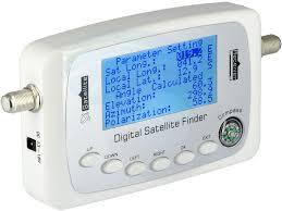 sf 500 digital satellite dish signal meter finder dvb s dvb s2