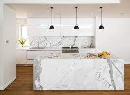 kitchen island marble pendant lights offer visual contrast in the white kitchen
