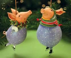 joyful animal ornaments