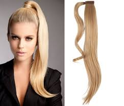 ponytail hair get the look grande s edgy ponytail with hair rings