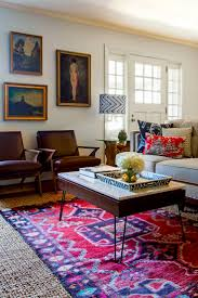 Persian Rug Decor Living Room With Red Persian Rug Living Room Design Ideas