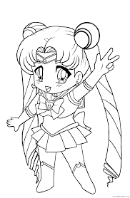 sailor moon coloring pages for kids coloring4free coloring4free com