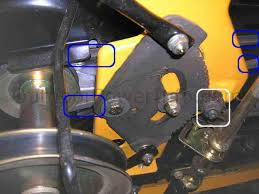 installation repair and replacement of v belts on mtd cub cadet