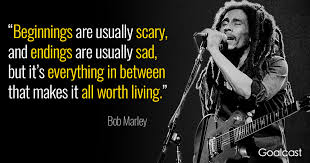 bob marley quote on being worth living goalcast