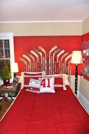 Best Kaydens Room Images On Pinterest Boy Bedrooms Hockey - Boys hockey bedroom ideas