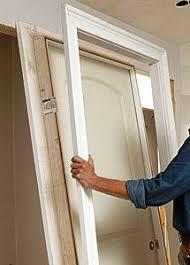 How To Hang Prehung Interior Doors Installing Split Jamb Doors Easy