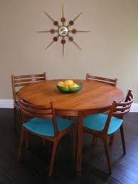 Dining Table And Six Chairs Sleek And Simple Lines Vintage Teak Dining Table