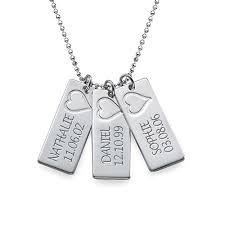 Name Bar Necklace Tgseller Name Bar Necklace In Silver
