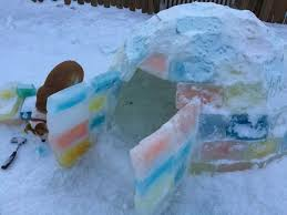 How To Build An Igloo In Your Backyard - make an ice block igloo 7 steps with pictures