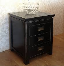 incredible black nightstand with drawers black nightstand with