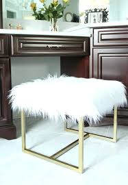 ottomans faux fur pouf ottoman mongolian lamb chair sheepskin also