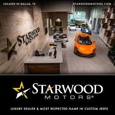 starwood motors kevlar paint luxury used cars near austin custom jeeps in texas
