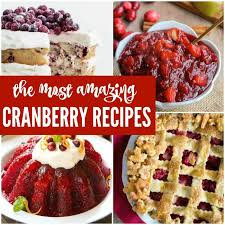 8 thanksgiving cranberry recipes to try this year for