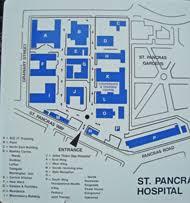 St Pancras Floor Plan Lost Hospitals Of London