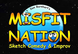the misfit nation sketch comedy and improv show