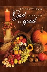 thanksgiving 1 timothy 4 4 niv bulletins 100 christianbook