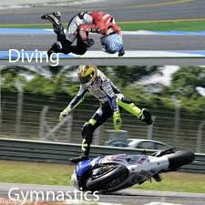 Funny Motorcycle Meme - sports combined with motorcycle racing meme