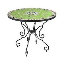 Outdoor Bistro Table Pier 1 Imports Green Paisley Outdoor Bistro Table Polyvore