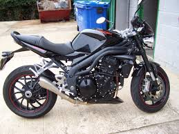 triumph speed triple 15th anniverary addition fitted with pc5 in