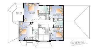 houses with two master bedrooms 4 bedroom traditional house plan with rustic touches two master