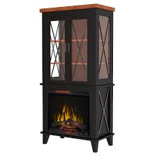 bold flame concord 30 in display cabinet electric fireplace in