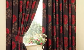 charity curtain window tags black curtains for living room deep