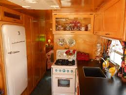 vintage camper interiors vintage trailer interiors from the