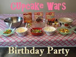 wars birthday party cupcake wars birthday party lessons from our