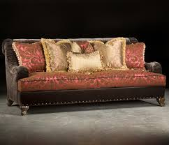 valentino traditional sofa with sophisticated elegance and ruched