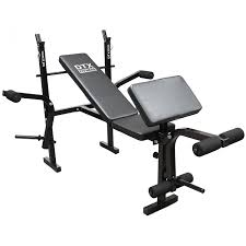 dtx fitness all in one dumbbell barbell weight bench with