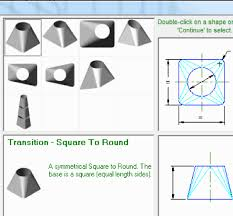 how to unfold 3d shapes and create 2d templates