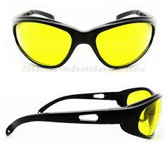 glasses with lights on the side road gator yellow lens motorcycle safety glasses bikershades com