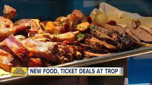 cuisine trop ta bay rays serve food and offer ticket deals at tropicana