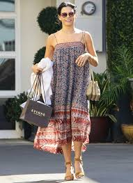 boho halloween costume jenna dewan tatum steps out in the perfect summer instyle com