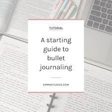 Bullet Journaling by Emma U0027s Studyblr