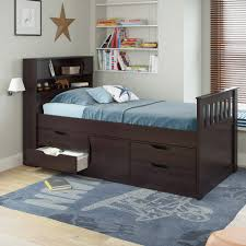 bed u0026 bedding using mesmerizing twin captains bed for captivating