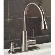 efoodie hands free pull down kitchen faucet by danze with led