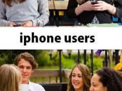 Iphone Users Be Like Meme - android users vs iphone users weknowmemes